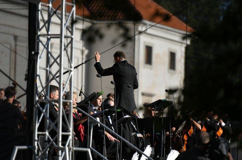 Jubiliejinis Pažaislio muzikos festivalis atsisveikino istorinės operos akordais