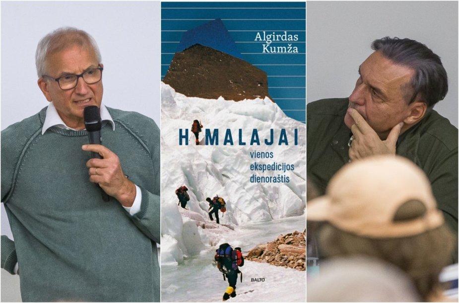 Algirdas Kumža (kairėje) ir Algirdas Kaušpėdas (dešinėje)