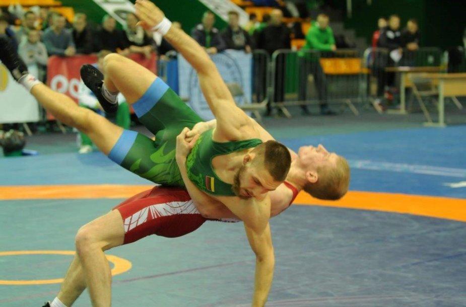 2018 m. Lietuvos imtynių čempionatas