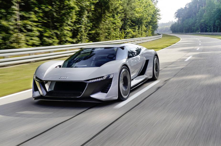 """Audi"" elektrinė koncepcija ""PB18 e-tron"": iki 100 km/val. – per 2 sek."