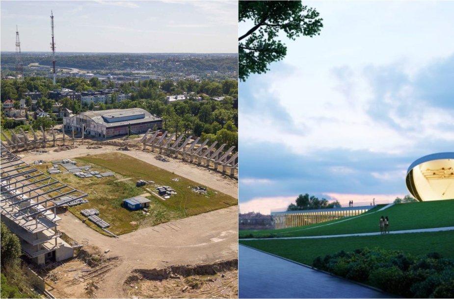 """Tiek Kauno stadiono, tiek """"Mokslo salos"""" projektą įgyvendins """"Autokausta"""""""