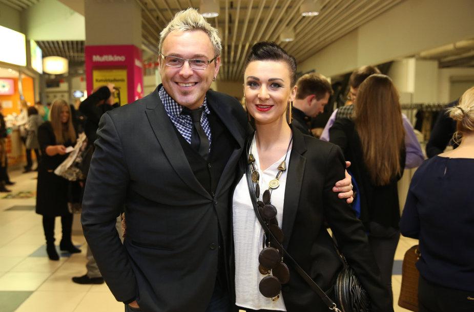 Egmontas Bžeskas ir Reda Bžeskienė