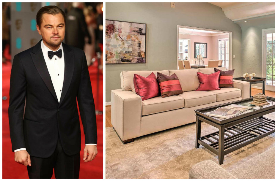 Leonardo DiCaprio parduodamas namas Los Andžele