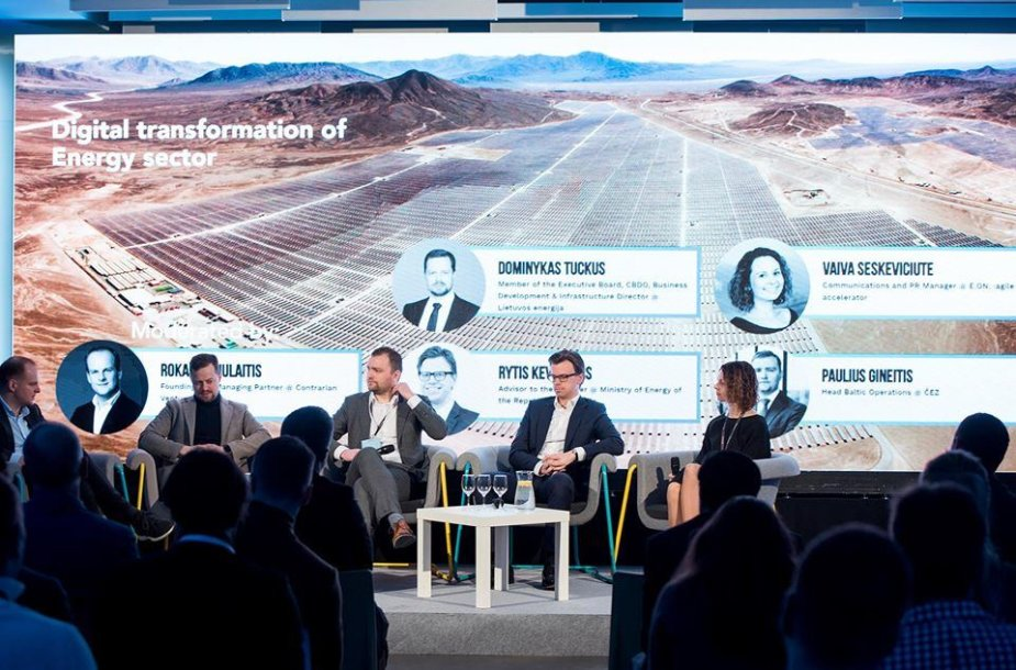 Energy Tech Summit 2019 panel discussion