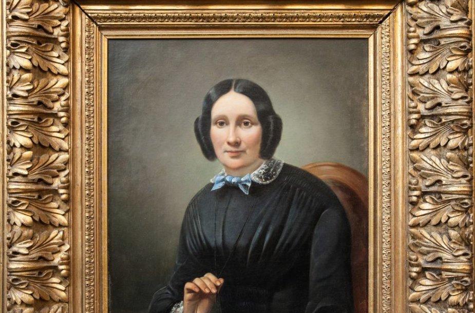 "Napoleonas Ylakevičius ""Moters portretas"", 1852 m."