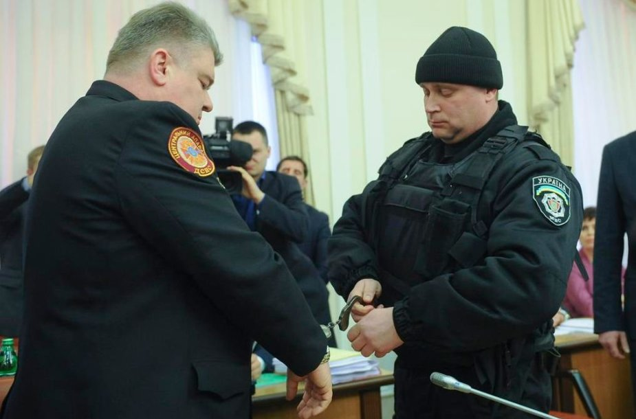 Suimami Sergejus Bočkovskis ir jo pavaduotojas