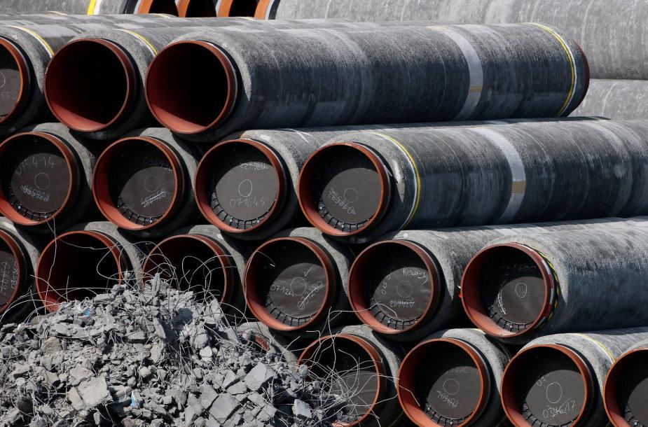 """Tiesiamas """"Nord Stream 2"""" dujotiekis"""