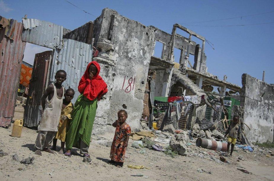Vaikai Somalyje