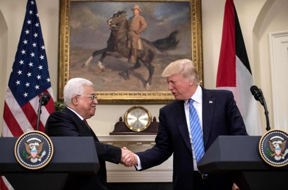 Mahmudas Abbasas ir Donaldas Trumpas