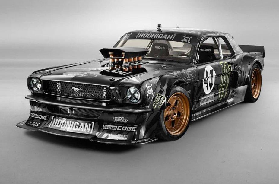 "Naujasis Keno Blocko automobilis – ""Ford Mustang Hoonicorn RTR"""