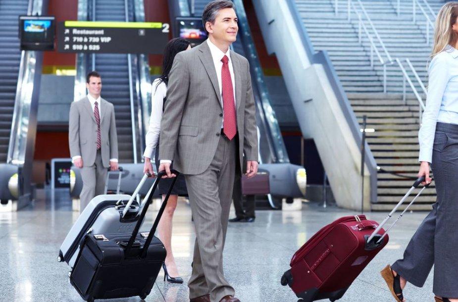 Verslininkas oro uoste