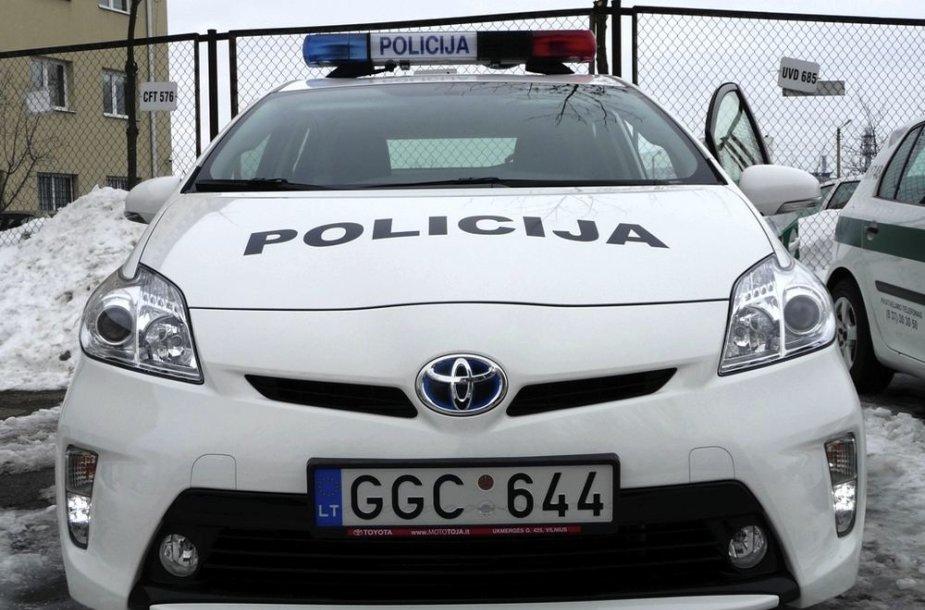 """Policijos automobilis """"Toyota Prius"""""""