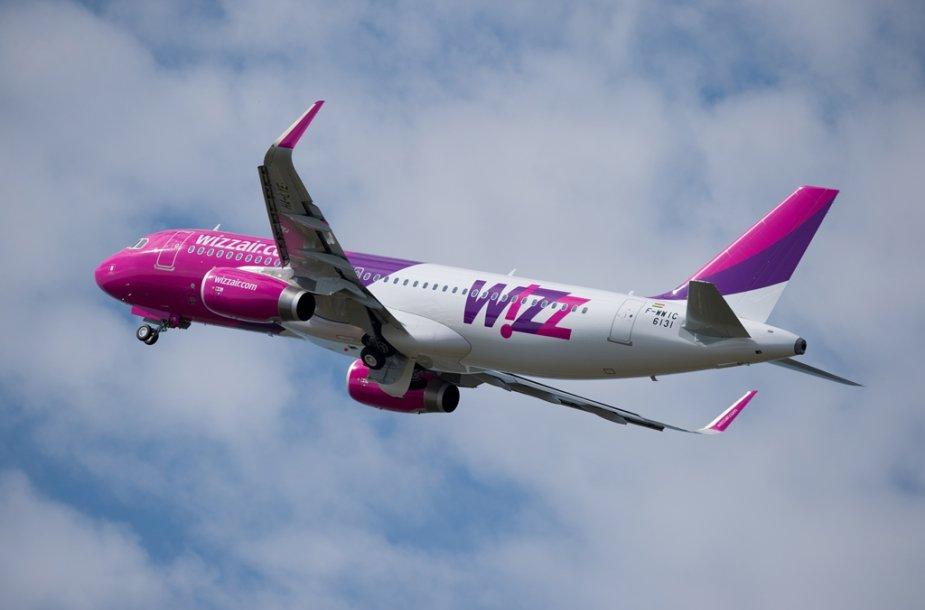 """""""Wizz Air"""" lėktuvas """"Airbus A320"""""""