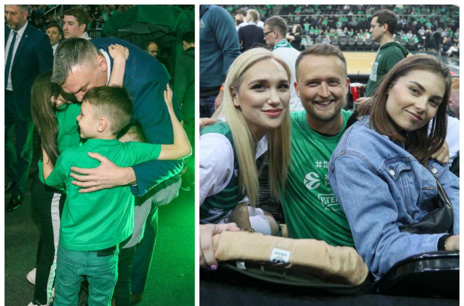 Šarūnas Jasikevičius su vaikais, Gintarė Songailė, Mantas Katleris, Aistė Kabašinskaitė