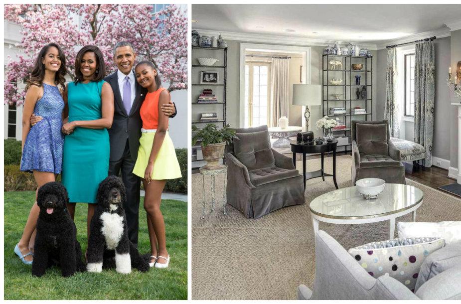Baigęs kadenciją, JAV prezidentas Barackas Obama su šeima apsigyveno Vašingtono gyvenvietėje Kaloramoje