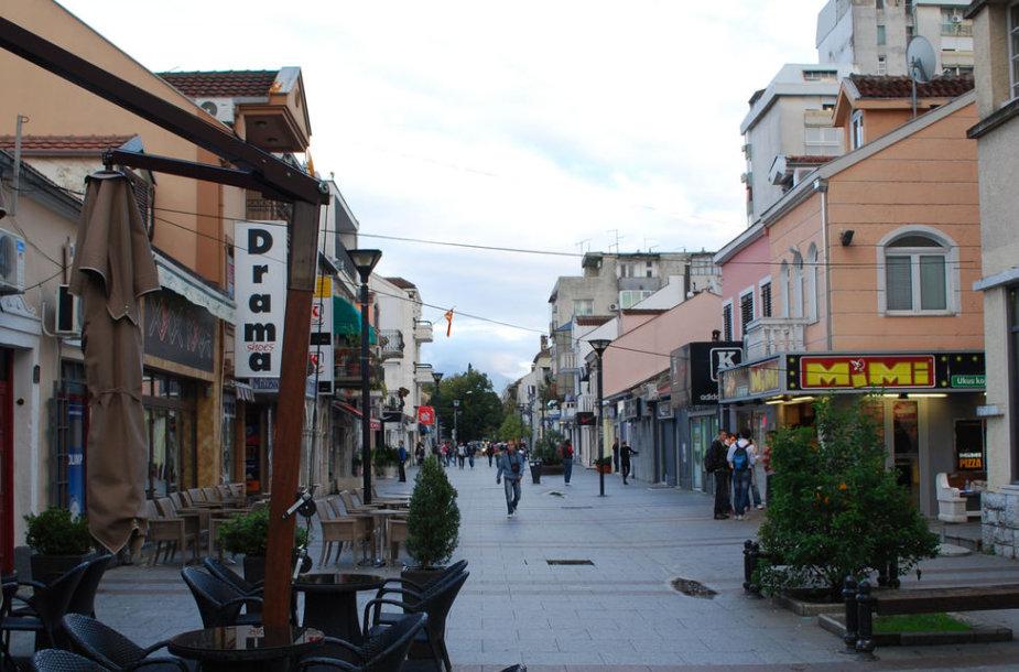 Podgoricos gatvė