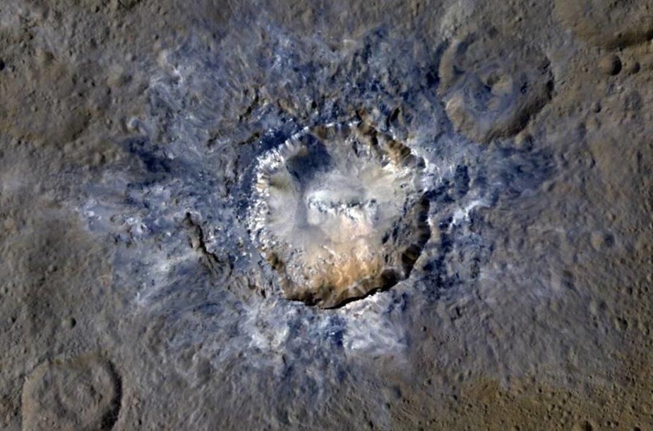 Cerera, Haulani krateris