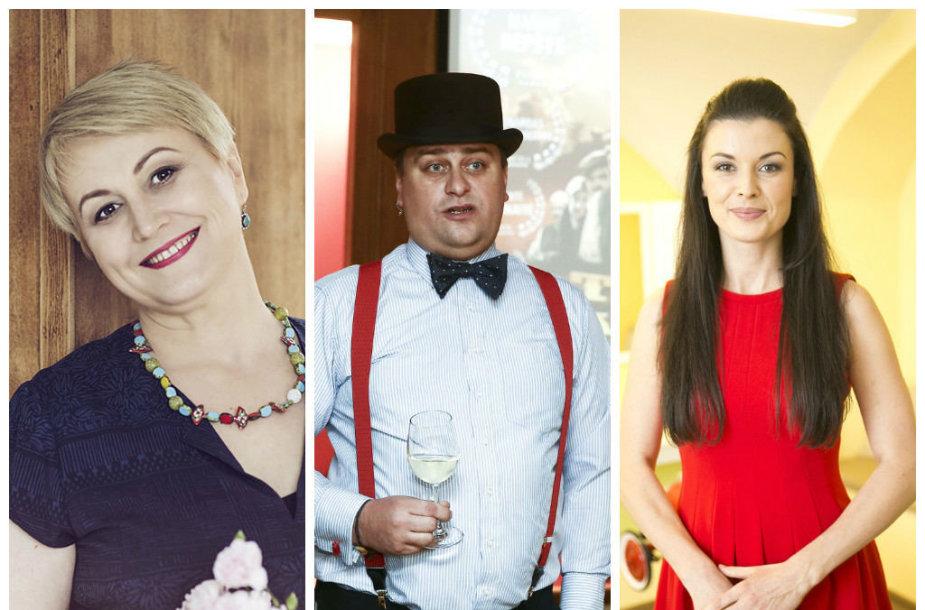 Neringa Čereškevičienė, Kristupas Baublys ir Laura Imbrasienė