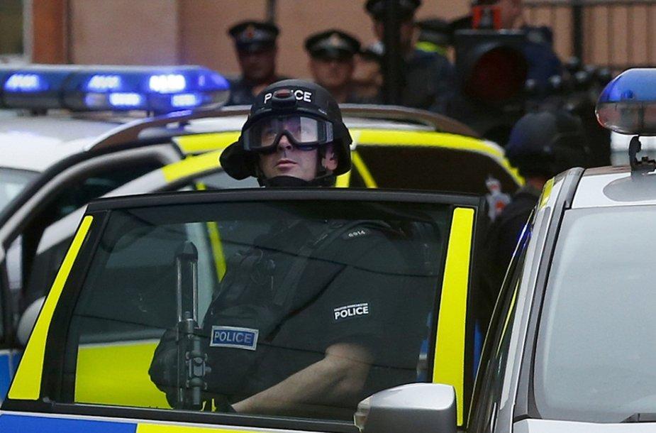 Didžiosios Britanijos policija
