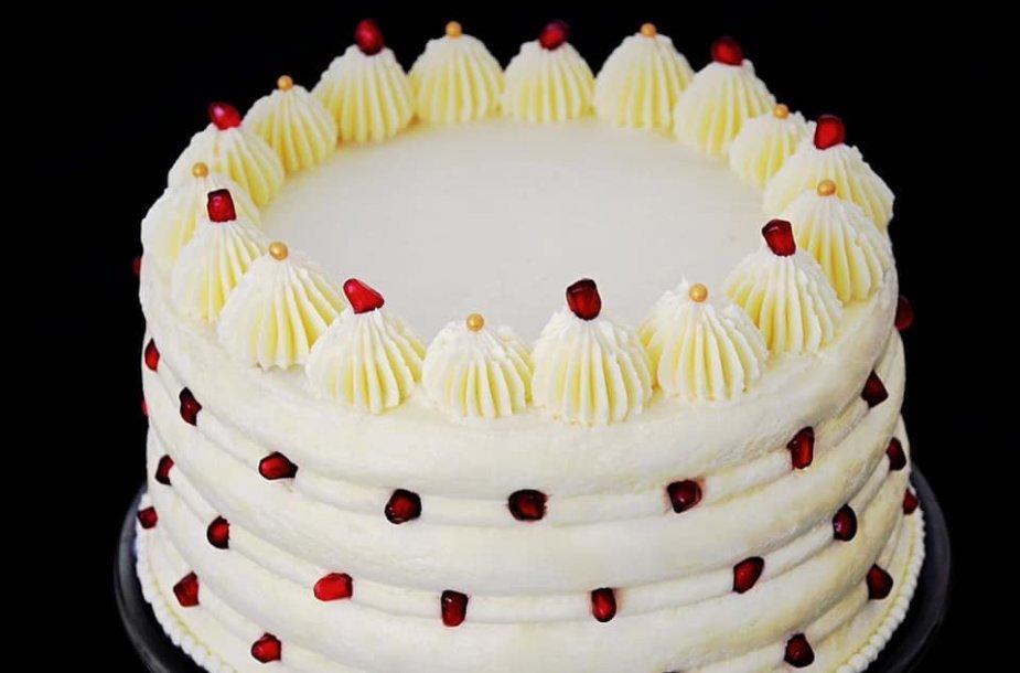 """""""Napoleono"""" tortas su Chibousto kremo pertepimu"""