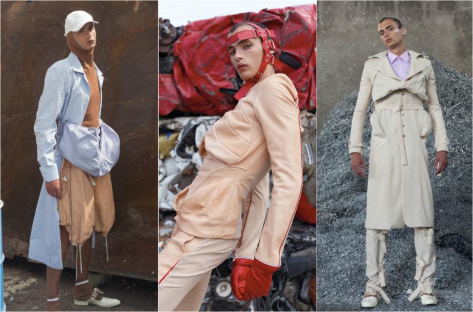 Federico Cinos kolekcijos modeliai