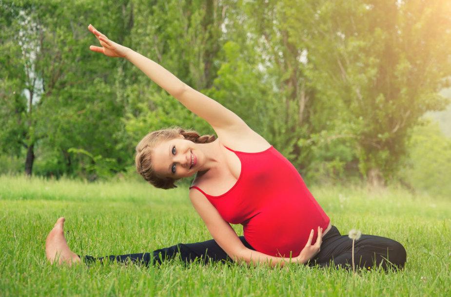 Mankšta nėštumo metu