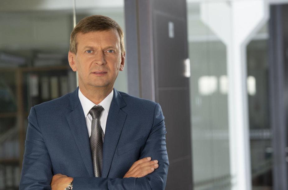 """""""Rivonos"""" generalinis direktorius ir """"Norfos"""" įmonių grupės savininkas Dainius Dundulis"""