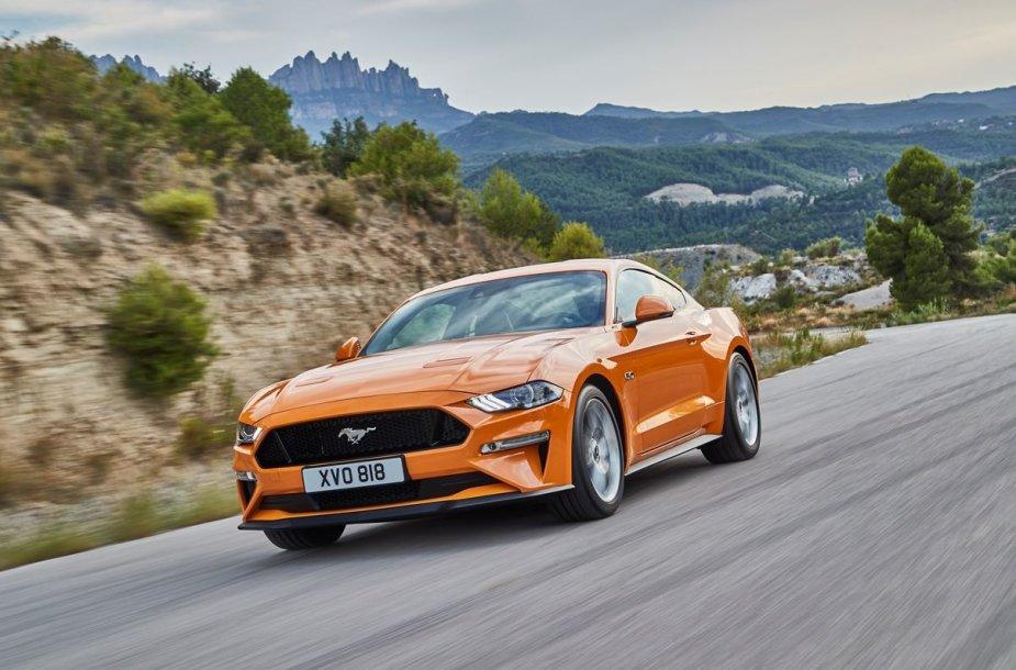 "Atnaujintas ""Ford Mustang"""