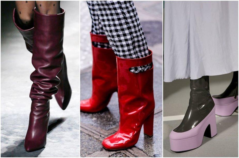 Rudens sezono tendencijos: madingiausi batai