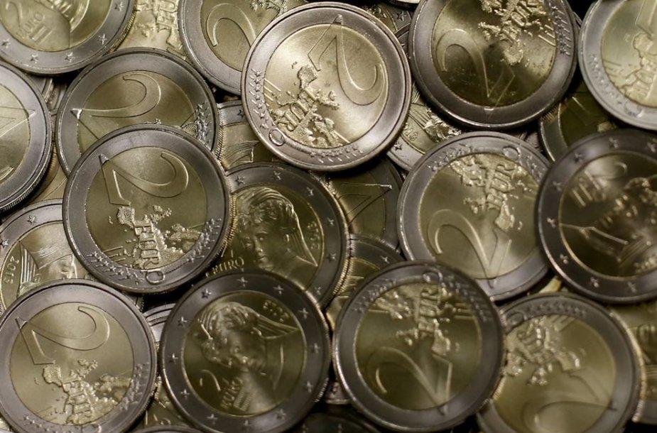 Dvejų eurų monetos