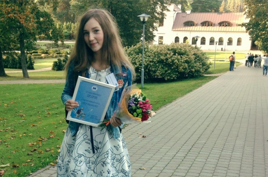 Gabija Vasiliauskaitė. Asmeninio archyvo nuotr.