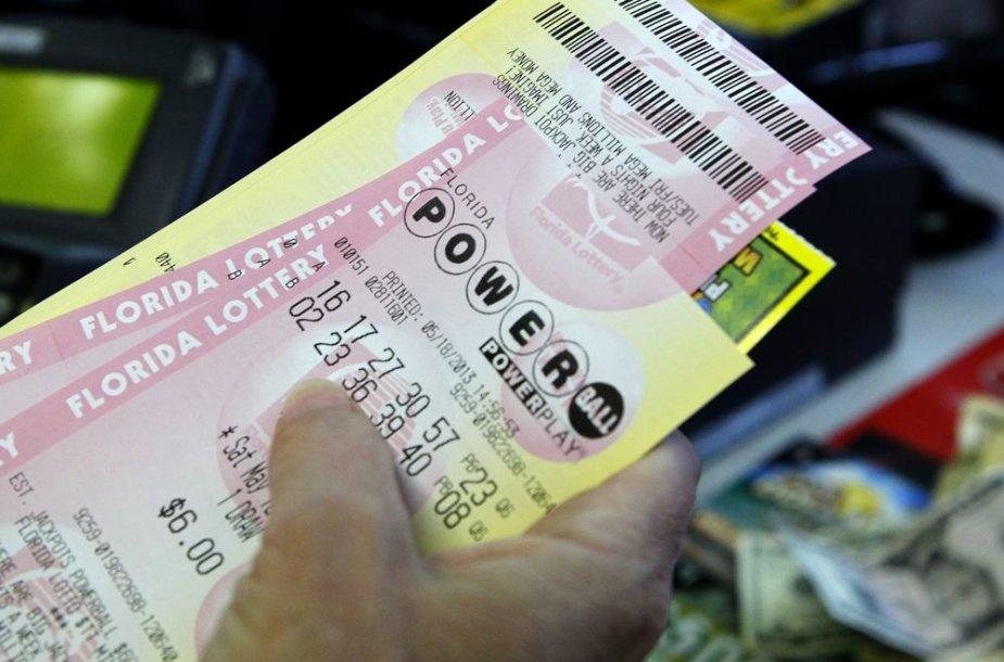 """""""Powerball"""" loterijos bilietas"""