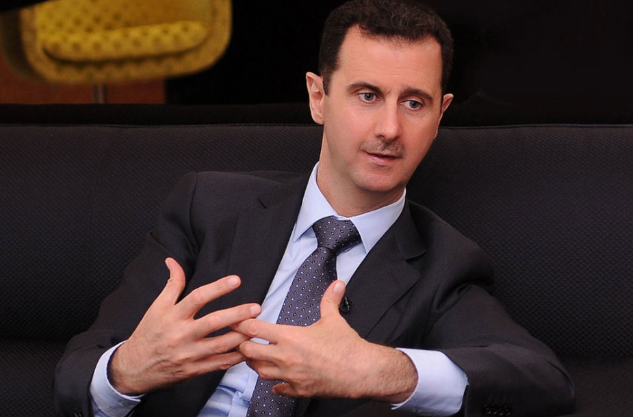 Sirijos prezidentas Basharas al-Assadas