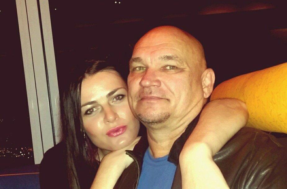 Alvydas Vilčinskas su žmona Rūta Vilčinskiene