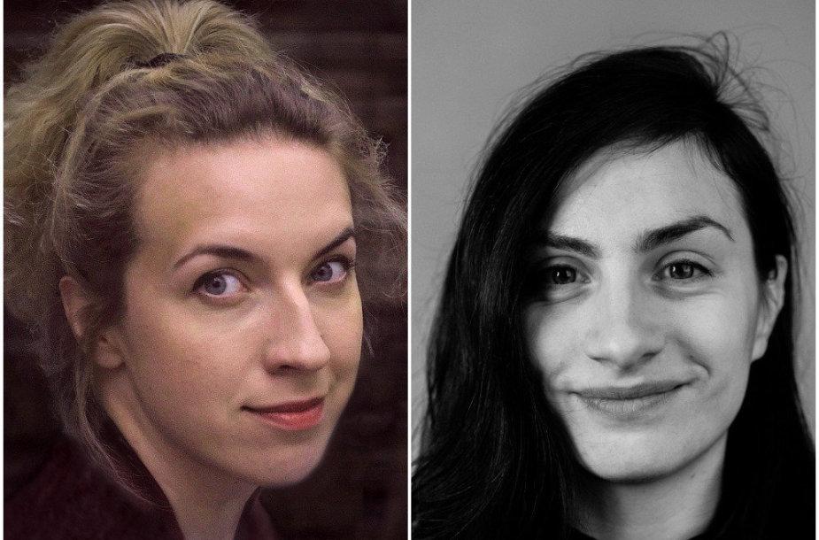 Birutė Kapustinskaitė ir Teklė Kavtaradzė