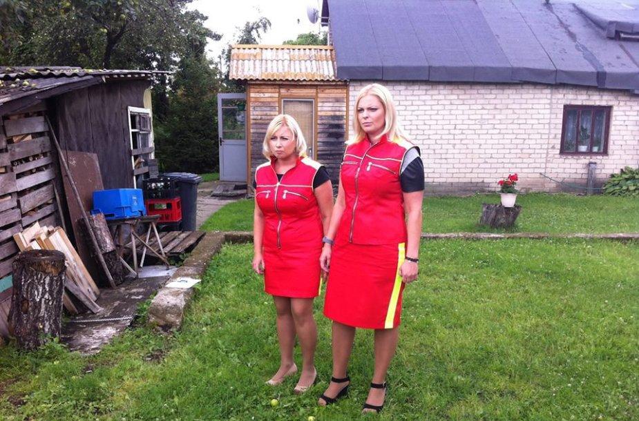 Viltė Stankutė-Butkienė (nuotraukoje – dešinėje) džiaugėsi darbu televizijoje, kur dirbdama padėjo spręsti konfliktus paprastiems žmonėms.