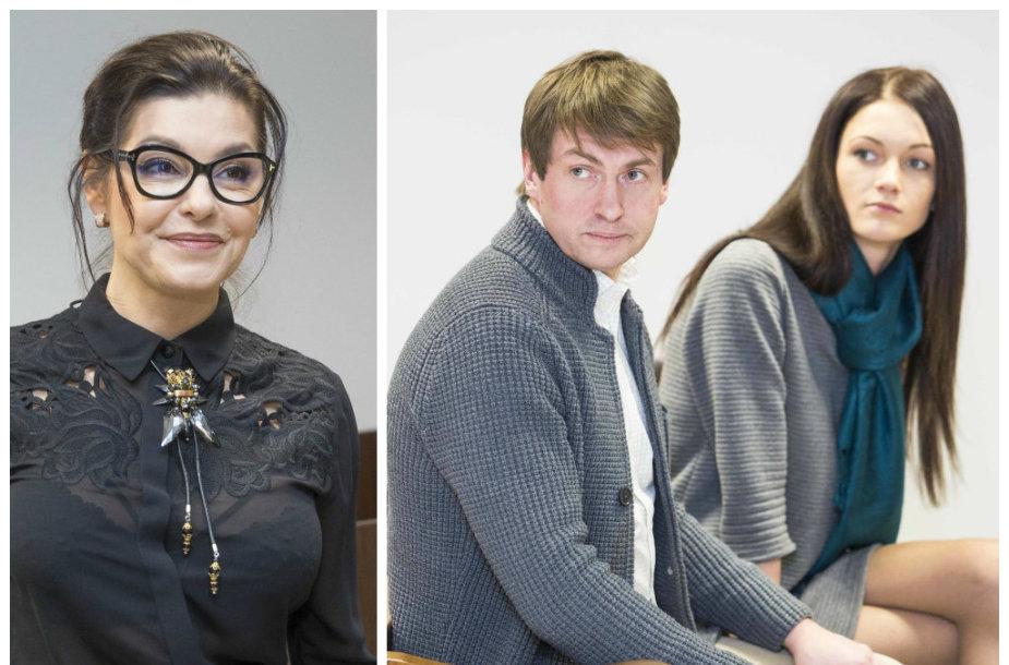 Kristina Kaikarienė bei Andrius ir Indrė Bogdanovičiai