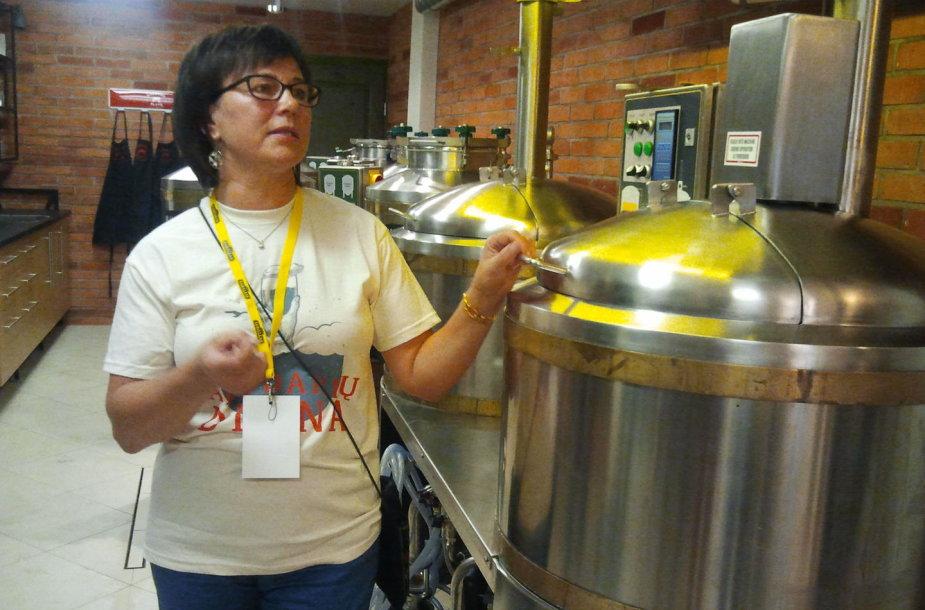 Aludarė Džiuljeta Armonienė nuogąstauja, kad šiandien rinkoje jau nebėra 15 jos sukurtų alaus rūšių