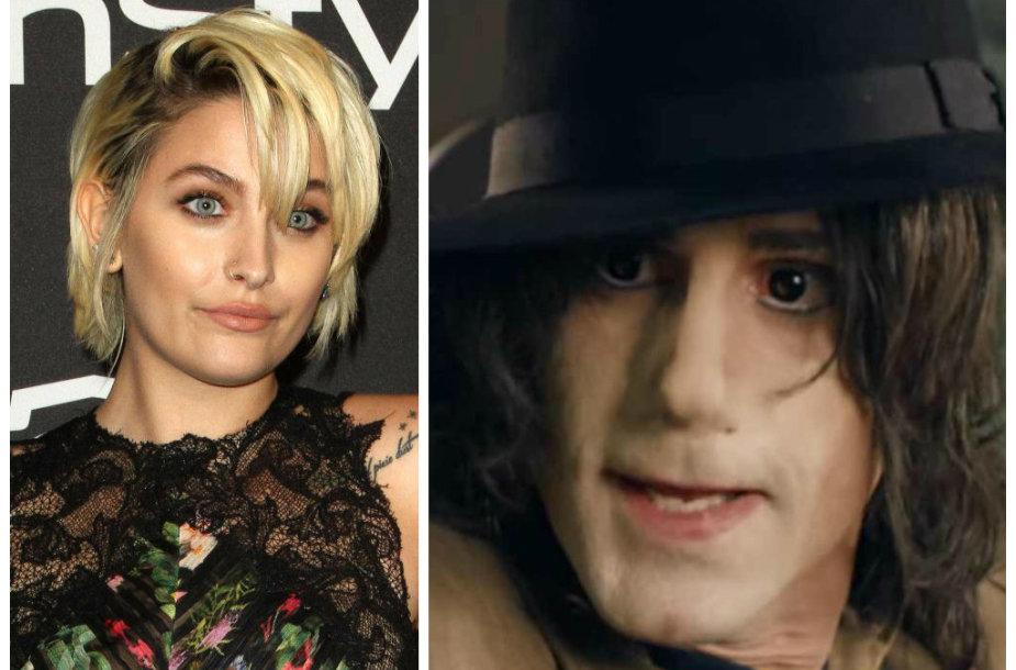 Paris Jackson papiktino komedija, kur jos tėvą Michaelą Jacksoną suvaidino Josephas Fiennesas