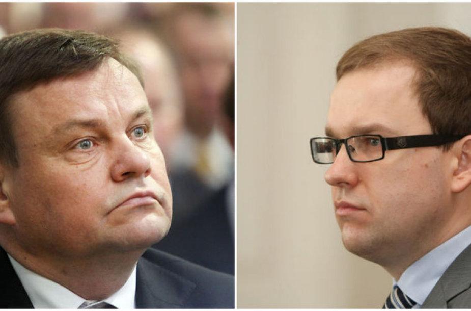 Vydas Gedvilas ir Vytautas Gapšys