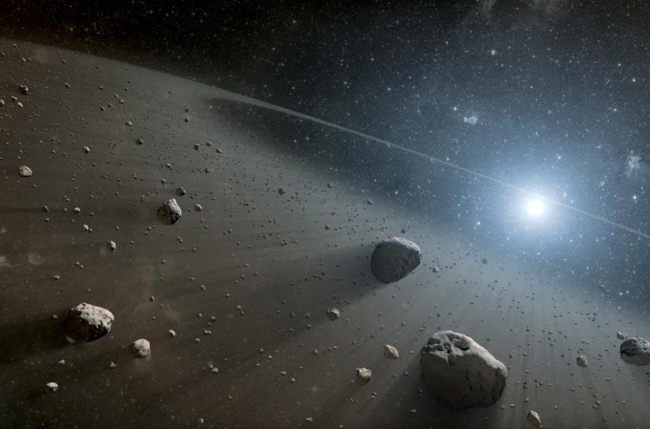 Asteroidai kosmose