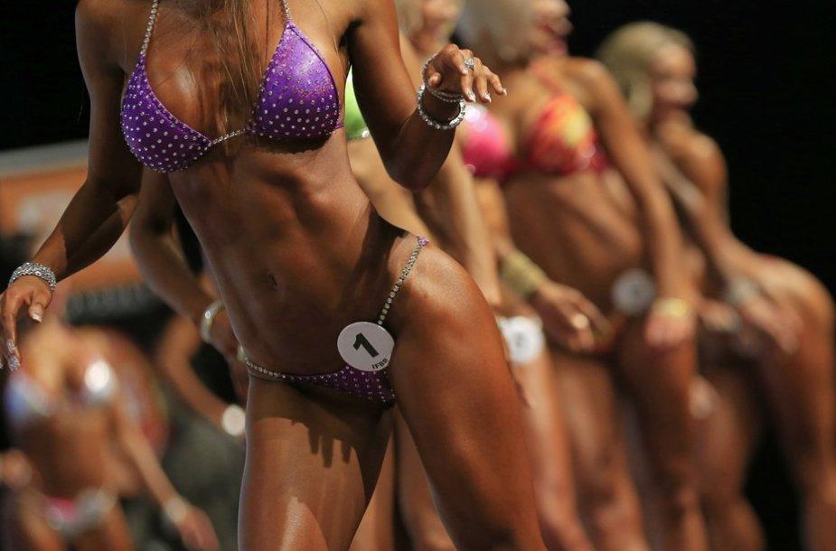 Bikinio ir kultūrizmo varžybos Sankt Peltene