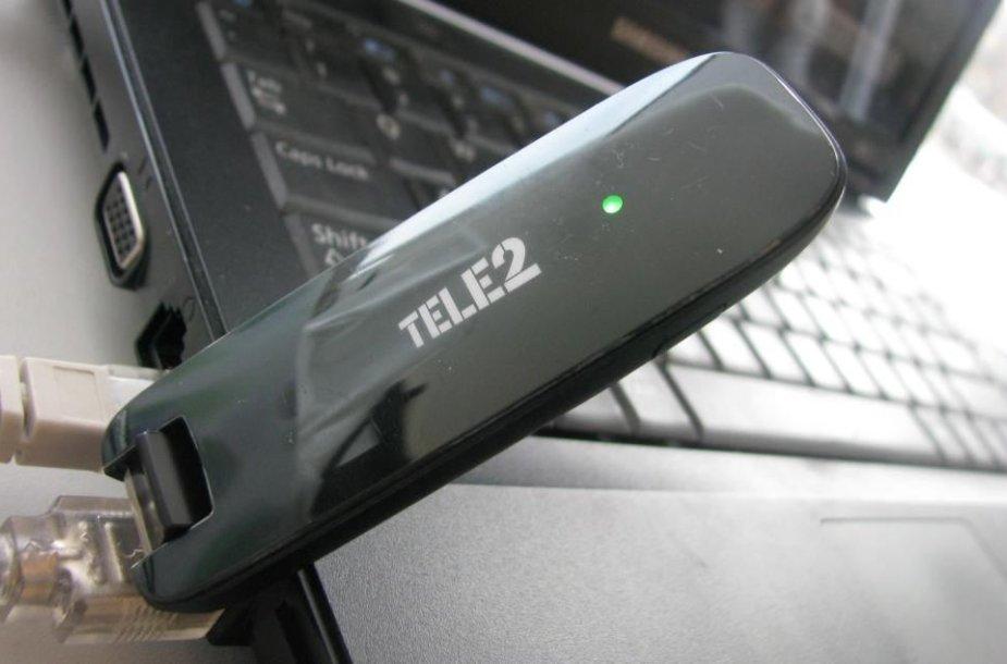 """Tele2"" mobiliojo interneto modemas"