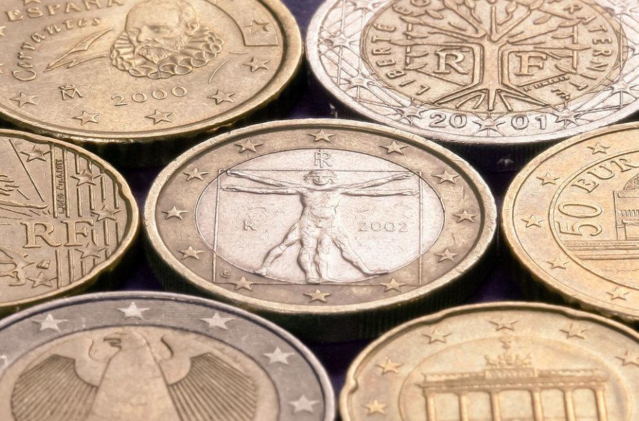 Euro monetos
