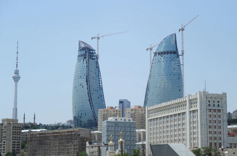 Naujieji Baku simboliai