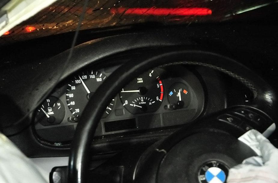 Automobilio prietaisų skydelis