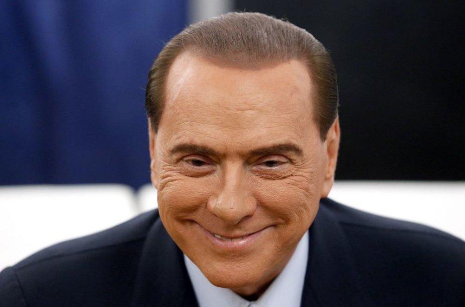 Buvęs Italijos ministras pirmininkas Silvio Berlusconi