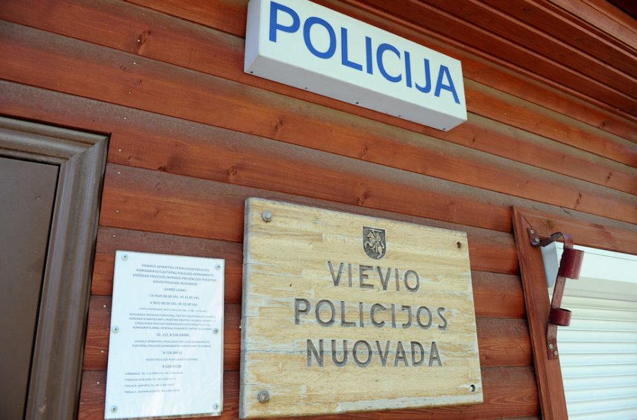Vievio policijos nuovada