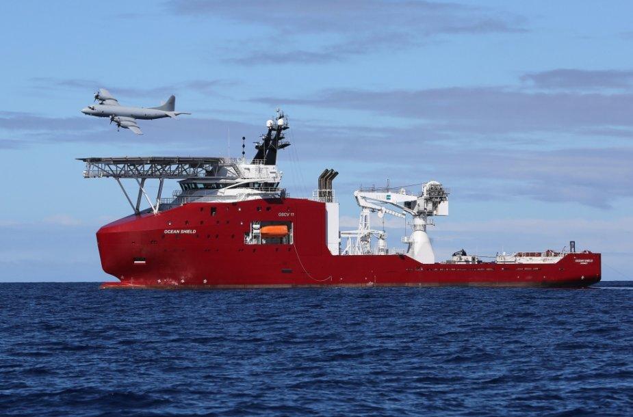 Malaizijos lėktuvo paieškos Indijos vandenyne