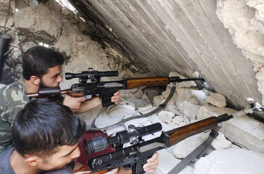 Sirijos laisvosios armijos snaiperiai